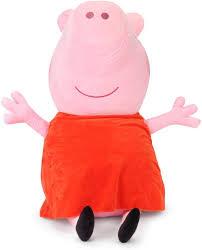 Peppa Pig Plush Peppa Peppa Pig Plush 46 Cm 46 Cm Peppa Pig Plush 46 Cm Buy