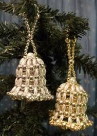 124 best beaded ornaments images on beaded