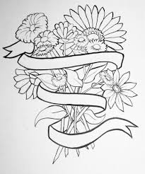 flower drawing flowers drawing the best flowers