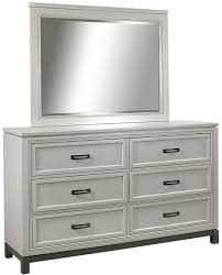Mirror Chest Of Drawers Aspenhome Hyde Park 6 Dovetail Drawer Dresser And Mirror Wayside