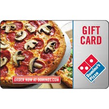 food gift cards domino s pizza gift card entertainment dining gifts food