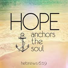 Love Anchors The Soul Hebrews - hope a trustworthy anchor for the soul pocket fuel