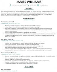 Sample Of Sales Associate Resume Simple Sales Associate Resume Example Livecareersample Sales