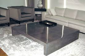 Concrete Coffee Table Concrete Coffee Table