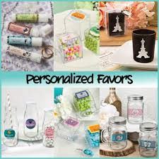 personalized party favors favors the party place li the party specialists
