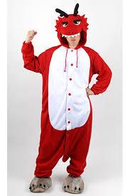 Dragon Halloween Costumes Red Dragon Kigurumi Halloween Onesie 4kigurumi