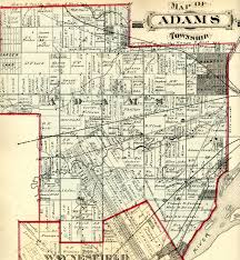 Map Toledo Ohio by Map Of Adams Township