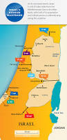 Map Of Isreal Maps Israel U0027s Narrow Waistband Aipac Org