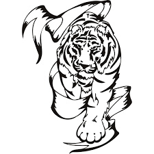 tribal animal art free download clip art free clip art on tribal tiger animals wall art stickers wall decal transfers