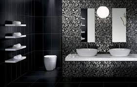 Modern Tiling For Bathrooms Fabulous Modern Bathroom Tile Designs In Monochromatic Colors