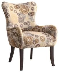 Beige Wingback Chair Nailhead Wingback Chair Houzz