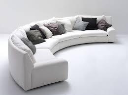 canapé demi cercle canapé en arc de cercle modulable contemporain en tissu ben