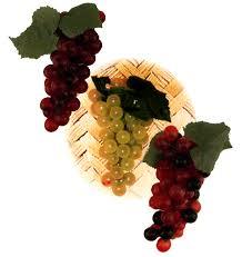sukkah decorations 4 grape clusters sukkah decorations