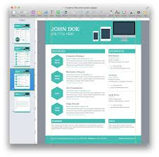 Resume Template Microsoft Word Creative Resume Templates Microsoft Word Free Resume Example And