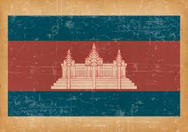 Cambodia Flag Grunge Flag Of Cambodia Download Free Vector Art Stock Graphics