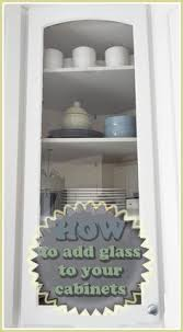 Kitchen Cabinet Doors Glass How To Put Glass In Cabinet Doors Glass Kitchens And Doors
