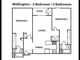 2 Bedroom Apartments In Albuquerque 2 Bed 2 Bath Apartment In Albuquerque Nm Wellington Place