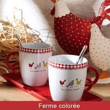 poule deco cuisine vaisselle plateau mug déco cuisine déco poule plateau mugs