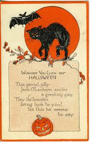 Halloween Party Invite Poem 50 Best Vintage Halloween Images On Pinterest Vintage Holiday