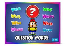 16 free esl question words powerpoint presentations exercises