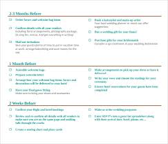 Where To Buy A Wedding Planner Sample Wedding Planning Checklist 6 Documents In Pdf Word