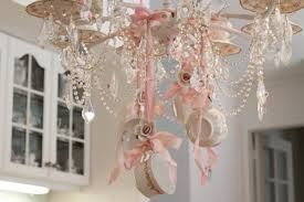 Tea Cup Chandelier Decorating With Teacups