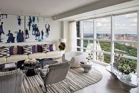 modern apartment art designer robert couturier s midtown apartment could double as a