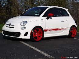 Fiat 500 Abarth White Gaetanos 2012 Abarth White