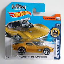 hotwheels corvette 2017 wheels 68 corvette gas monkey garage hw screen