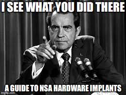 Meme Implants - mhv lug lightning talk intro to nsa hardware implants the smell
