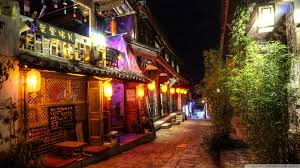 china hdr colorful street streets night pinterest