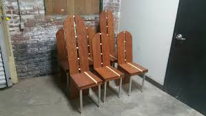 Maple Dining Chair Custom Made Bubinga And Curly Maple Dining Chairs By Donald Mee