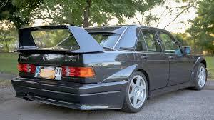 1990 mercedes benz 190e cosworth evo ii on ebay with 29 000 miles