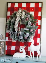 home depot decorations christmas wooden plank display with the home depot the crafting
