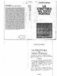 K Henbauer La Struttura Del Testo Poetico Lotman