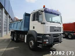 man tga 33 360 6x4 manual steel stock clean mat trucks
