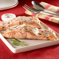 Bake Salmon In Toaster Oven Baked Salmon With Rosemary Rub Recipe From Heb