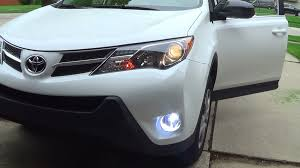 2015 toyota rav4 le fog light installation youtube