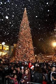 americana to host annual tree lighting event la times