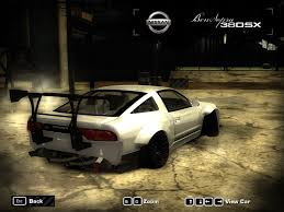 nissan 240sx rocket bunny nissan 240sx 380sx rocket bunny body kit need for speed most