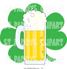 cartoon beer cheers green beer shamrock clipart explore pictures