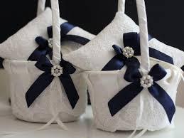 wedding baskets navy wedding pillows navy wedding baskets navy ring bearer pillow