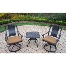 Patio Furniture Franklin Tn by Cast Iron Bistro Sets Patio Dining Furniture The Home Depot