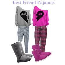 matching pajamas for best friends