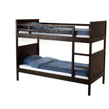 norddal bunk bed frame black brown bed frames bunk bed and room