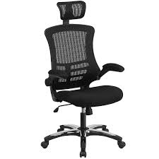 How To Stop Swivel Chair From Turning Amazon Com Flash Furniture High Back Black Mesh Executive Swivel