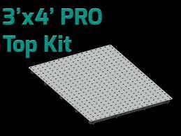3 u0027x4 u0027 large heavy duty welding table top kit certiflat by tab
