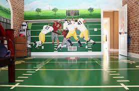 football wall decor stickers amazon bedroom inspired images about