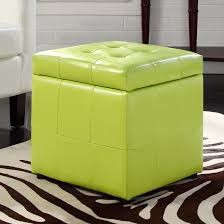 storage cube ottoman room essentials cube storage ottoman green