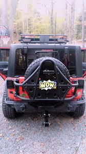 Fierce Attitude Off Road Tires Dv8 Off Road Wrangler Tire Carrier Tcsttb 01 07 17 Wrangler Jk